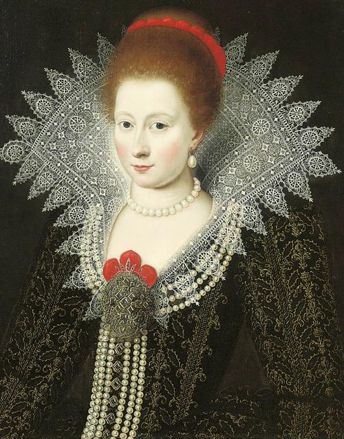 Signora, presumibilmente Anna di Danimarca, XVI secolo