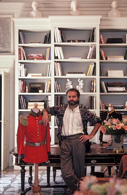 Giugno 1983, residenza Versace sul Lago di Como