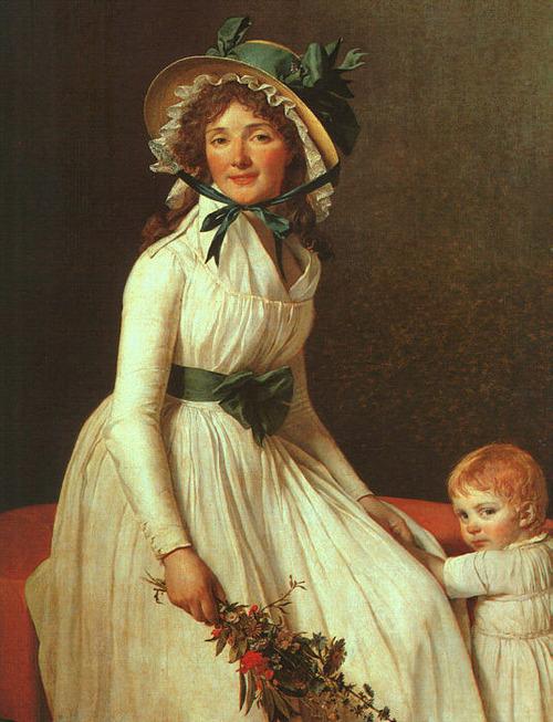 Ritratto di Madame Seriziat, Jacques Louis David, 1795