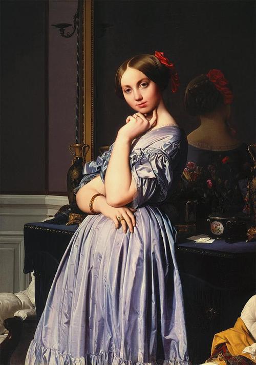 Contessa d' Haussonville, Jean Auguste Ingres, 1845