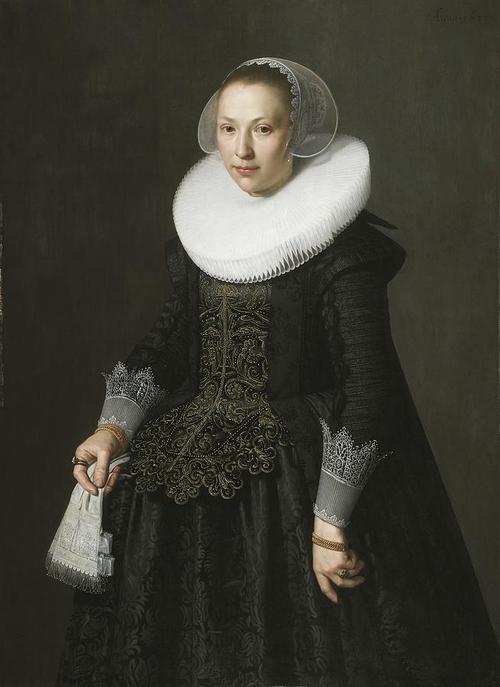 Ritratto di donna, Nicolaes Eliasz, 1600 circa