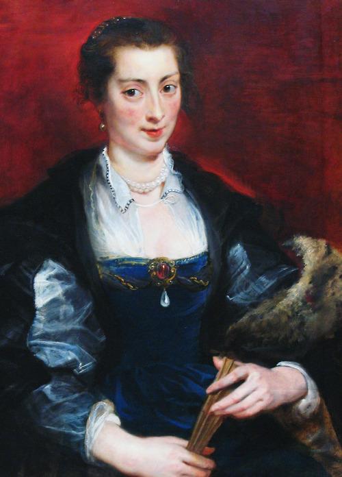 Ritratto di donna, Peter Paul Rubens, 1637