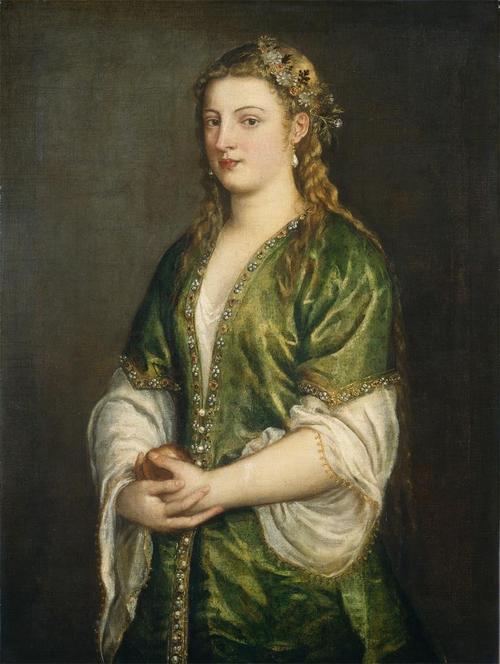 Ritratto di donna, 1555, Tiziano