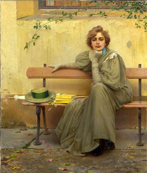 Sogni, Vittorio Matteo Corcos, 1896