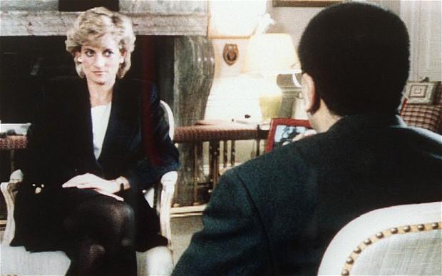 Lady Diana Spencer durante l'intervista alla BBC del 20 Novembre 1995