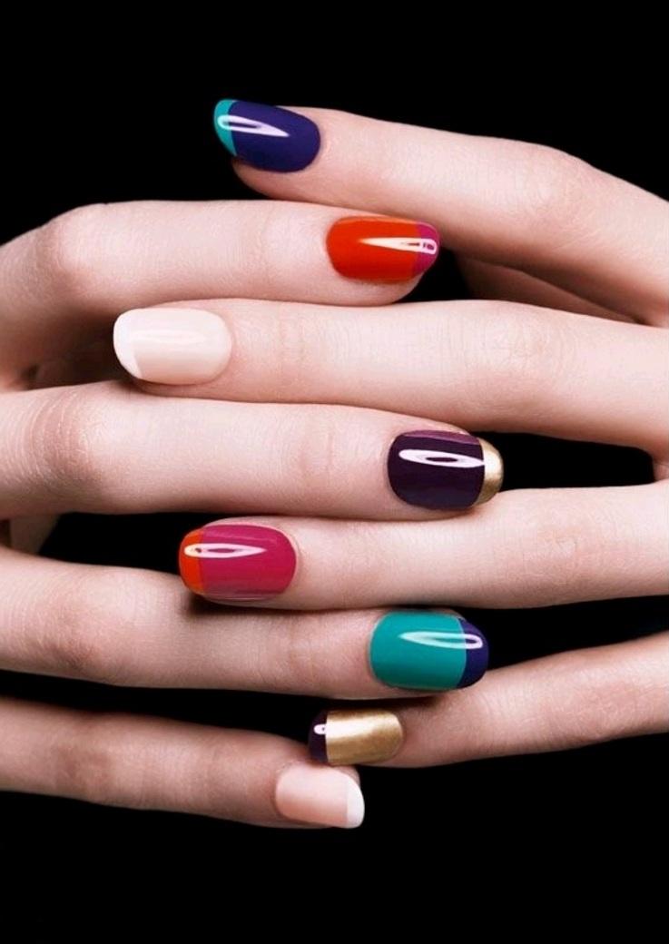 nail bicolor plf