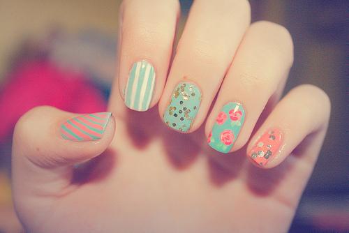 nail flower plf