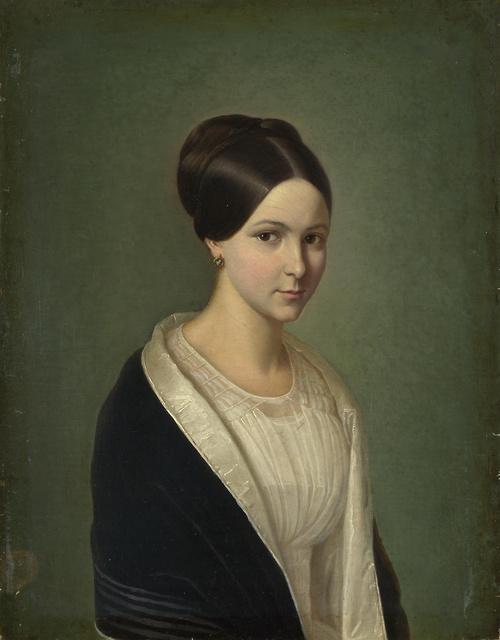 Ritratto di donna, autore ignoto, fine 1800, National Gallery, Londra
