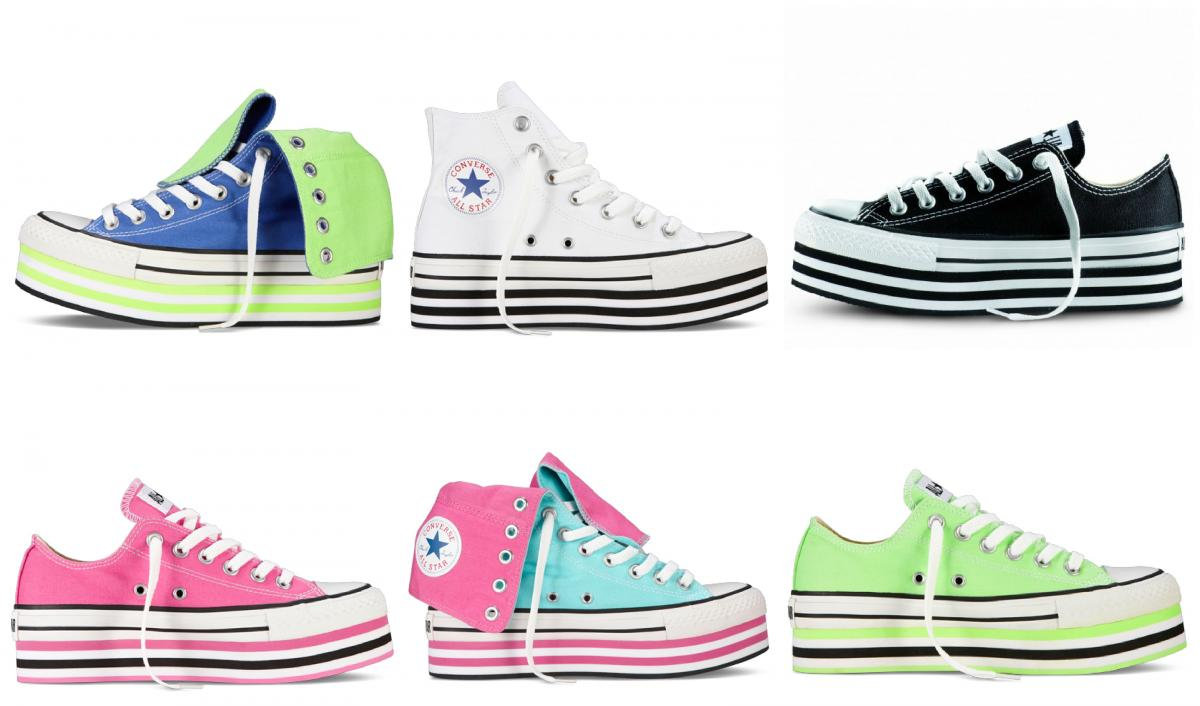 converse donna colorate