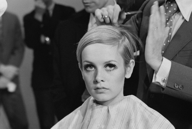 Cutting Twiggy's Hair