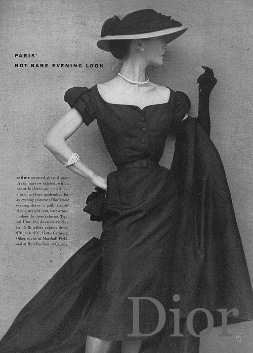 buy online b3764 4edb3 Christian Dior 1950 1951   Mount Mercy University