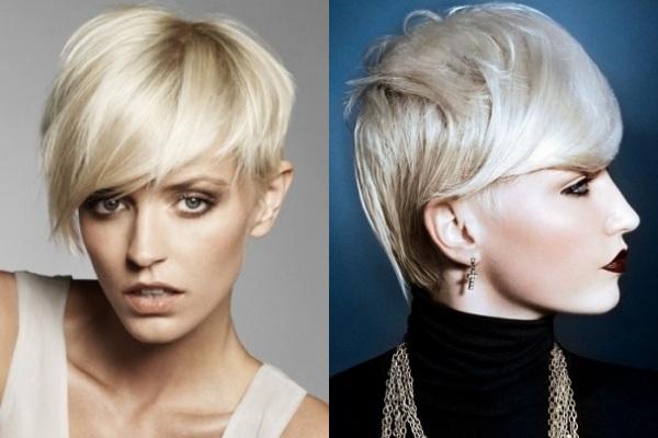 Tagli capelli corti aggressivi e femminili