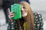 Anna-Dello-Russo-got-silly-camera-her-green-Chanel