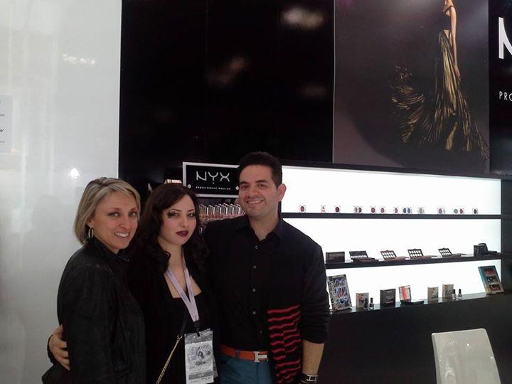 nyx cosmetics plf pescaralovesfashion clizia tonelli make up artist