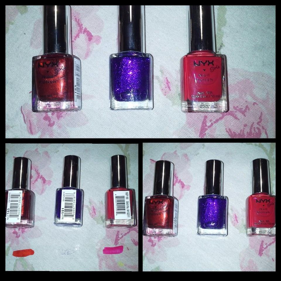 girls nail polish nyx