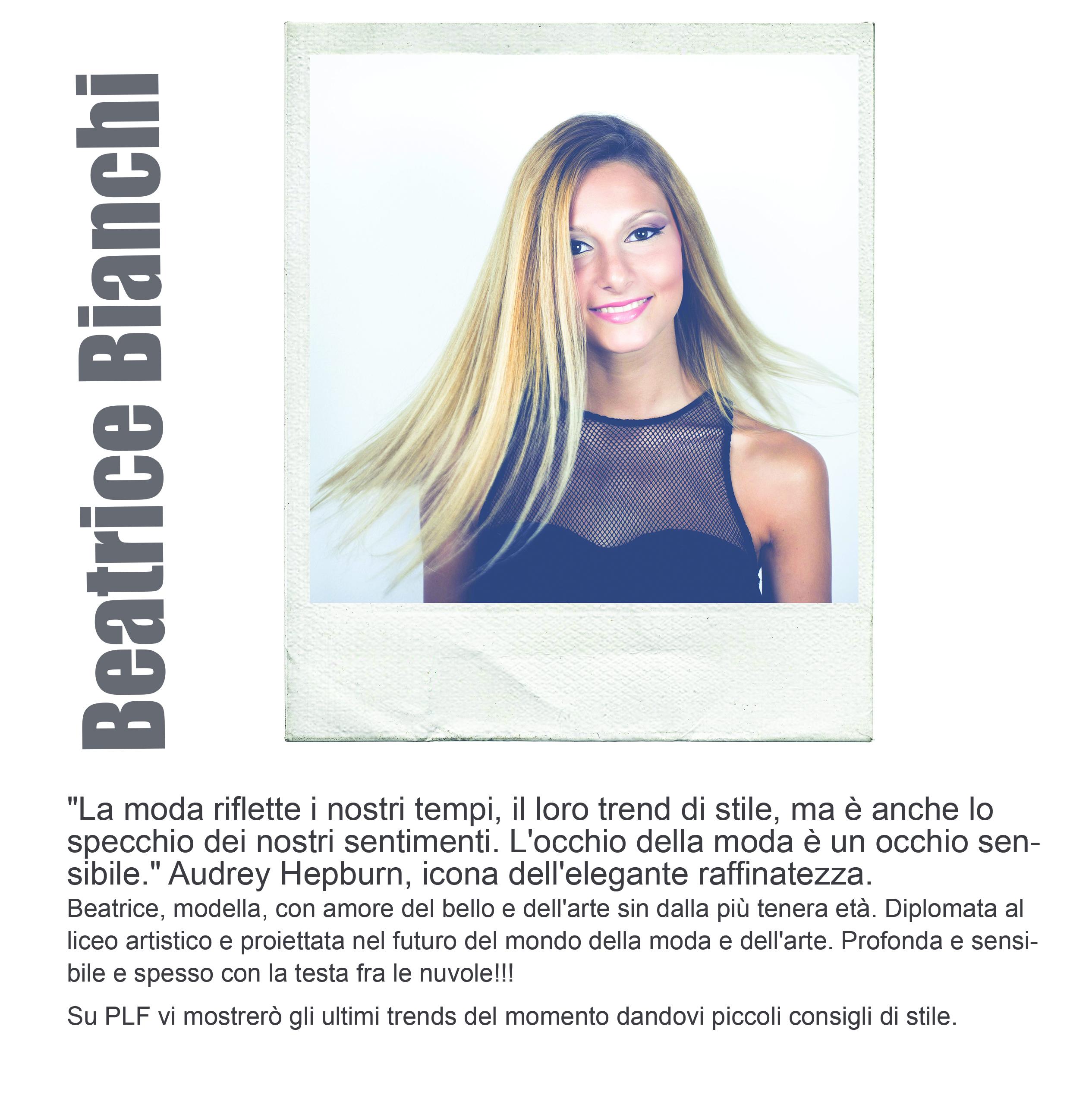 Beatrice bianchi pescara loves fashion - Lo specchio di beatrice wikipedia ...