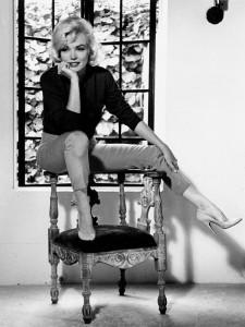 Marilyn Monroe calza Ferragamo.