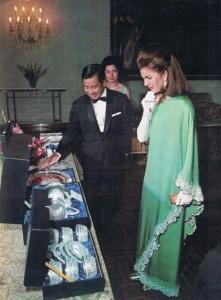 Jackie Kennedy, Cambodia 1967