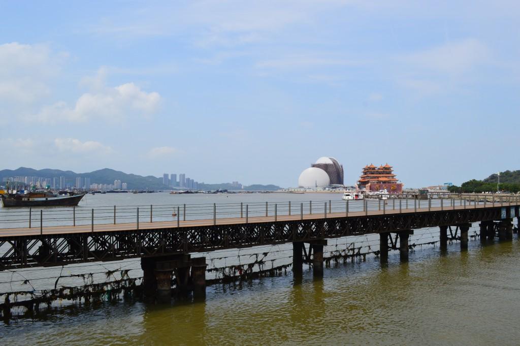 Zuhai - Opera House in costruzione
