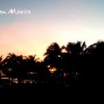 Tramonto colorato in Messico - Cancun